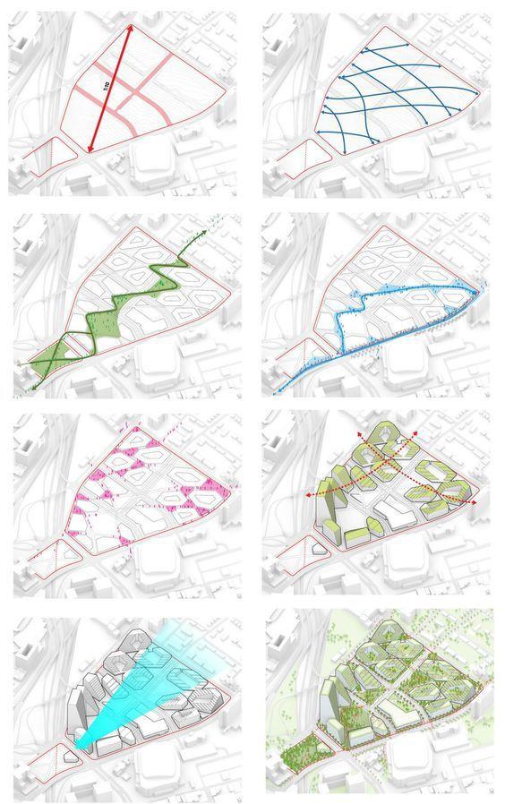 建筑作品集分析图,不是那样画!_13