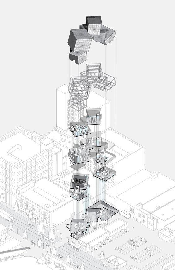 建筑作品集分析图,不是那样画!_12
