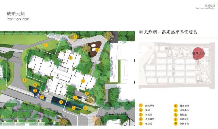[四川]现代风格高品质住宅大区景观方案设计-现代风格高品质住宅大区景观设计 (2)