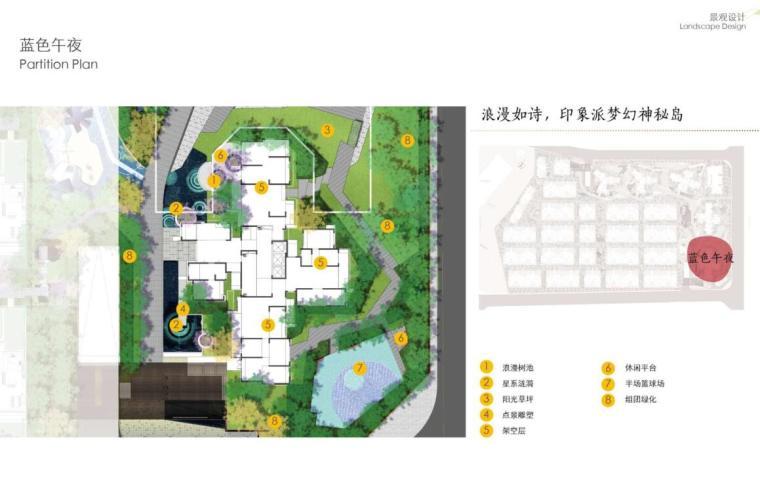 [四川]现代风格高品质住宅大区景观方案设计-现代风格高品质住宅大区景观设计 (7)