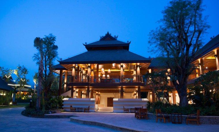[泰国]西双版纳避寒皇冠假日酒店施工图-Bar and Lounge