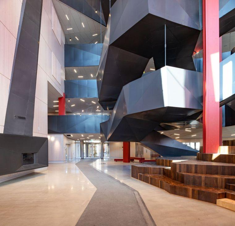 瑞典知识教育中心大厦内部实景图2