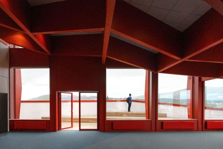 瑞典知识教育中心大厦内部实景图1