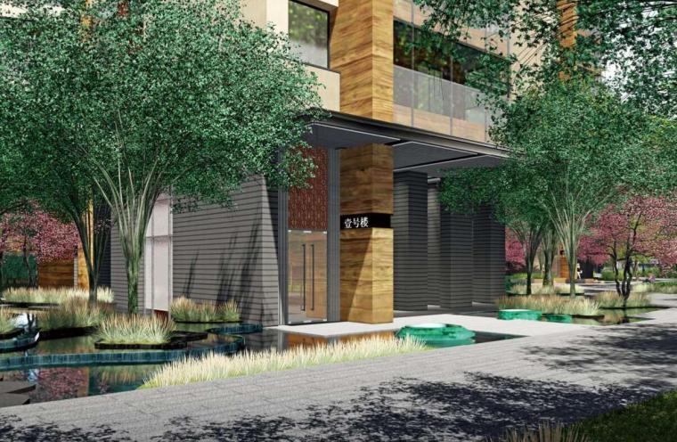 [四川]现代风格高品质住宅大区景观方案设计-现代风格高品质住宅大区景观设计 (15)