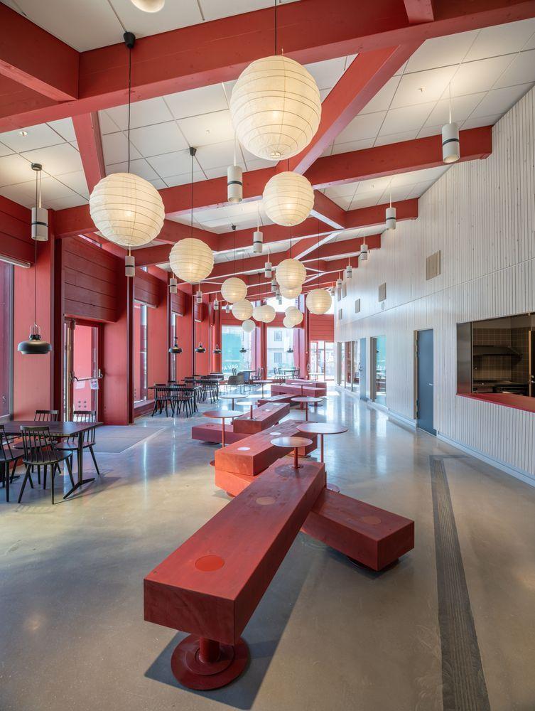 瑞典知识教育中心大厦内部实景图7