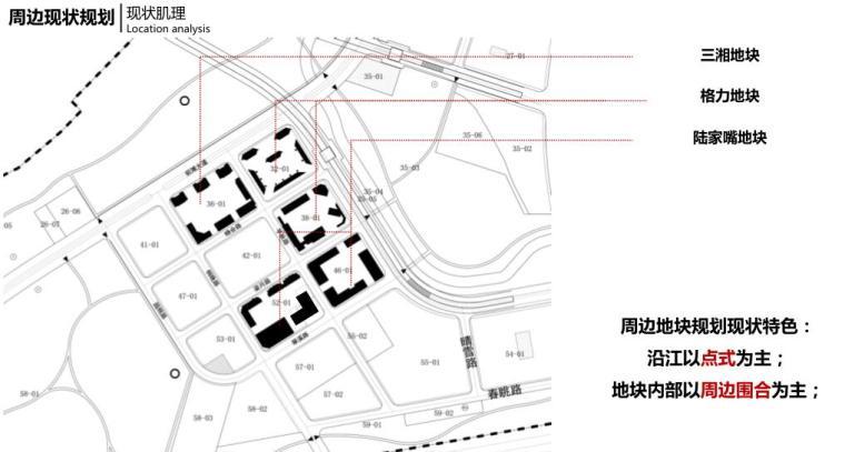 [上海]高端滨江豪宅租赁住宅建筑概念方案-现状肌理