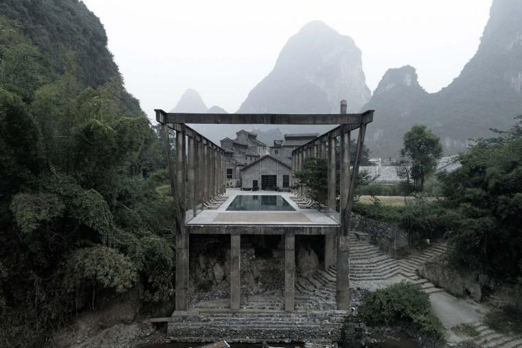 桂林阳朔阿丽拉酒店外部实景图2