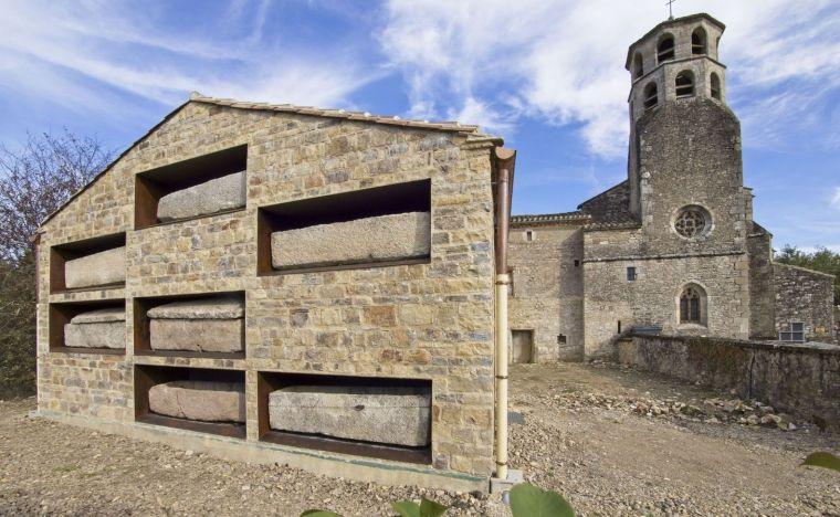 法国Vindrac-Alayrac文化中心外部实景图4