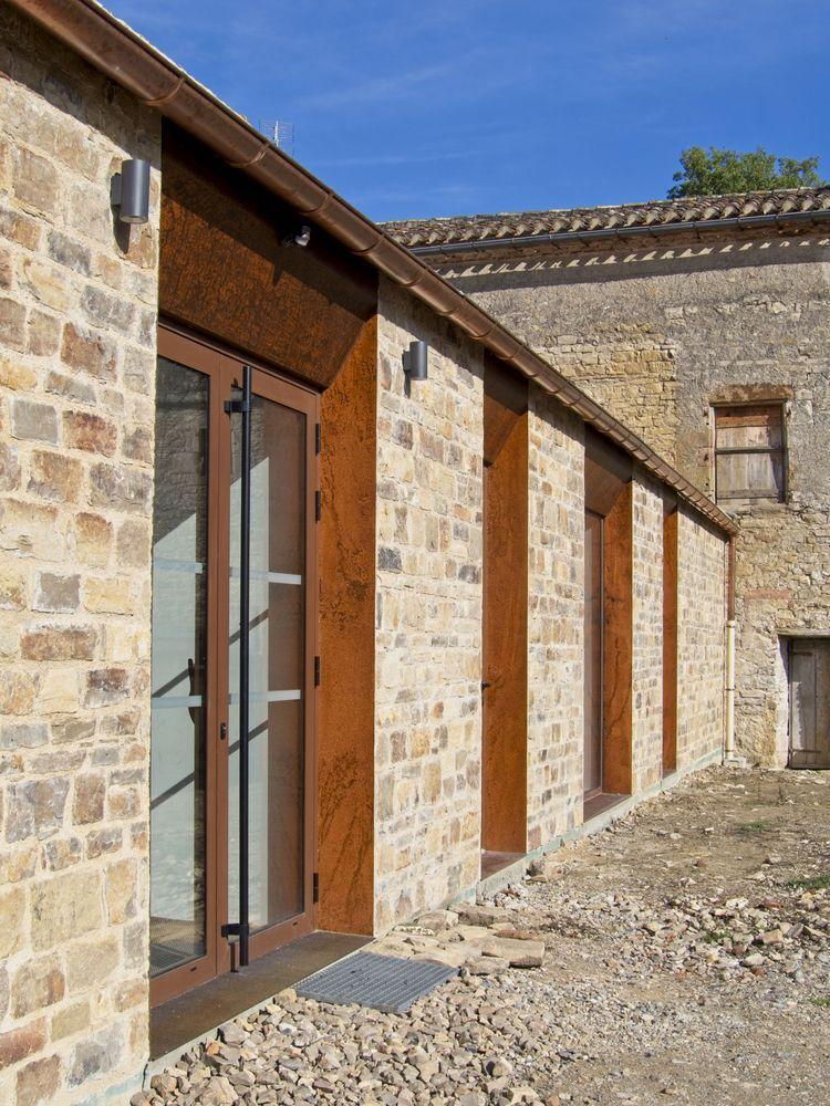 法国Vindrac-Alayrac文化中心外部实景图2