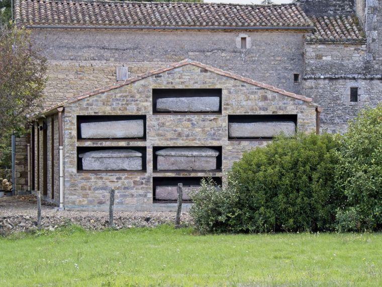 法国Vindrac-Alayrac文化中心外部实景图7