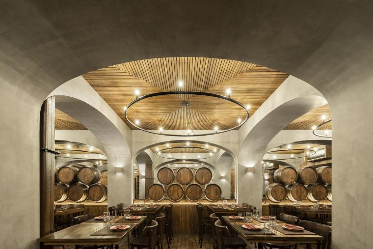 葡萄牙Barril餐厅室内实景图