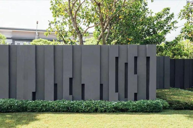 花式围墙设计,美了整体!_37