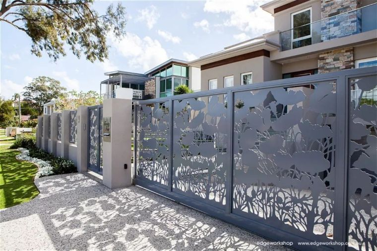 花式围墙设计,美了整体!_51