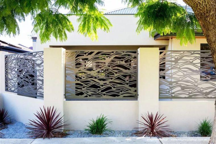 花式围墙设计,美了整体!_49