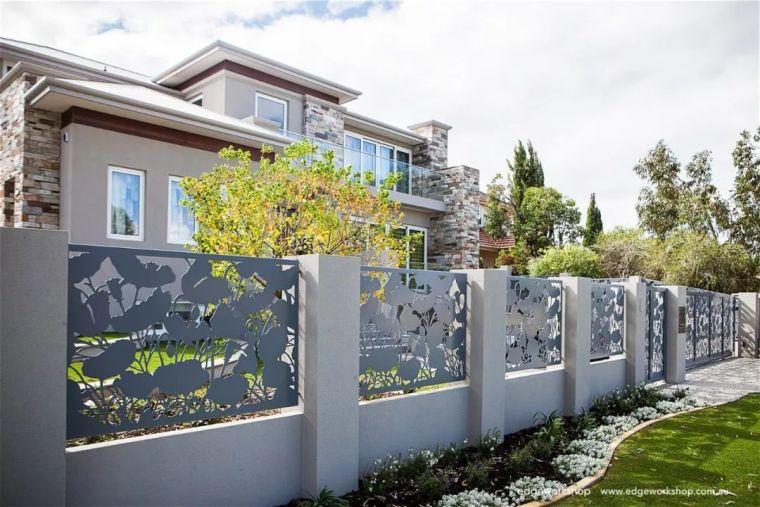 花式围墙设计,美了整体!_50