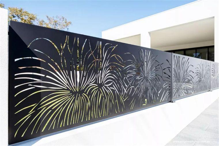 花式围墙设计,美了整体!_56