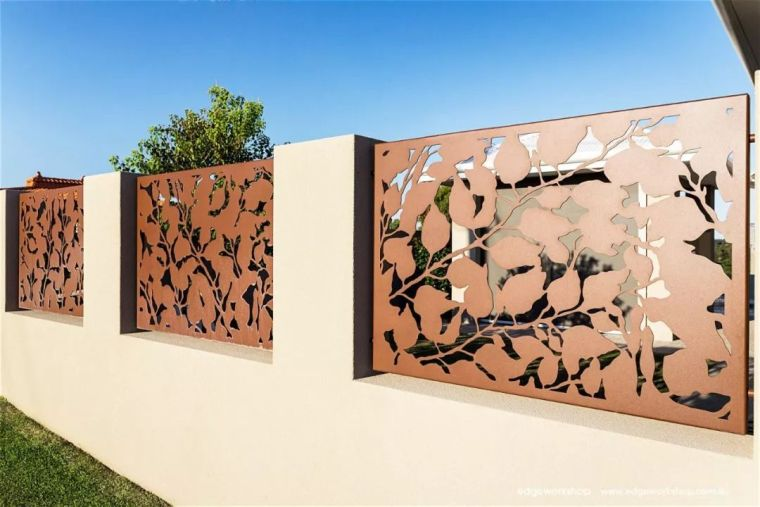 花式围墙设计,美了整体!_54