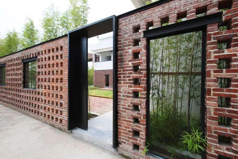花式围墙设计,美了整体!_75