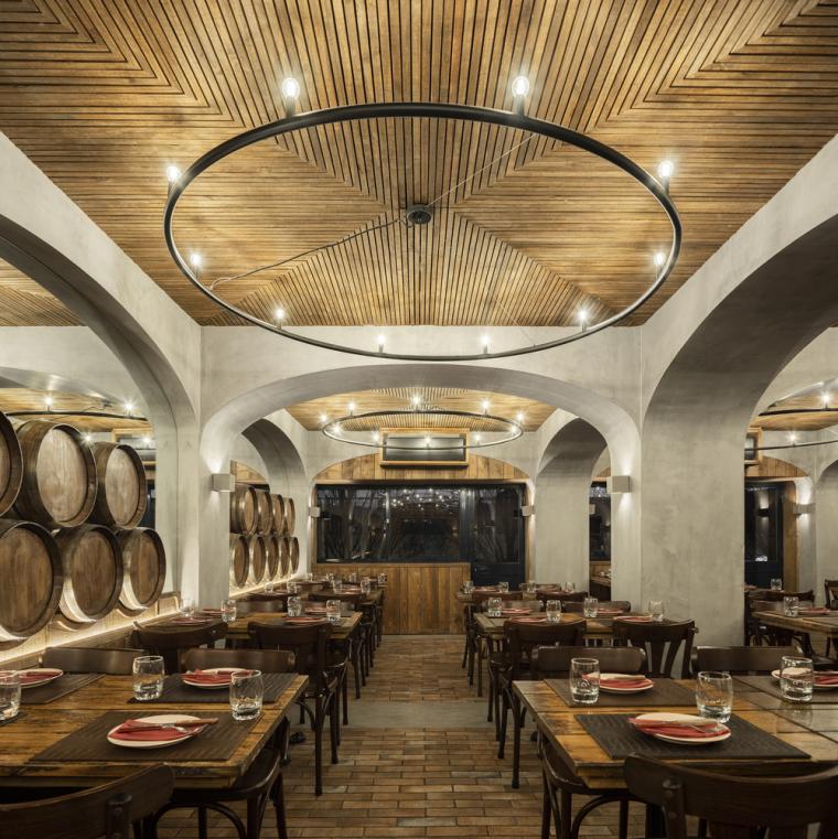 葡萄牙Barril餐厅室内实景图1