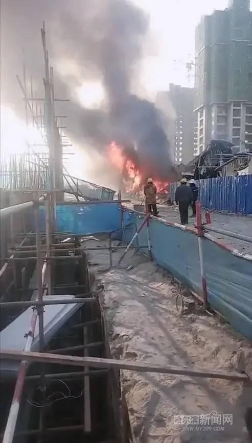 20天内,各地连发7起施工现场火灾事故!_10