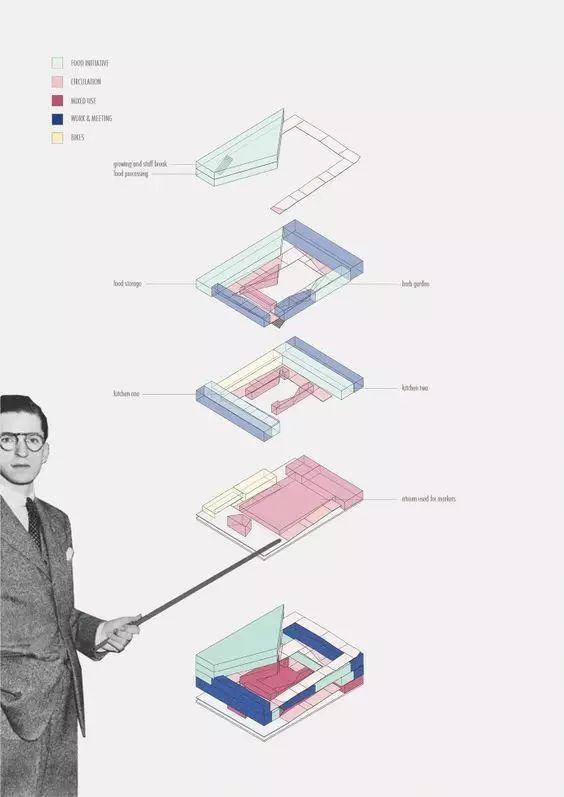 建筑方案推演分析图25例_3