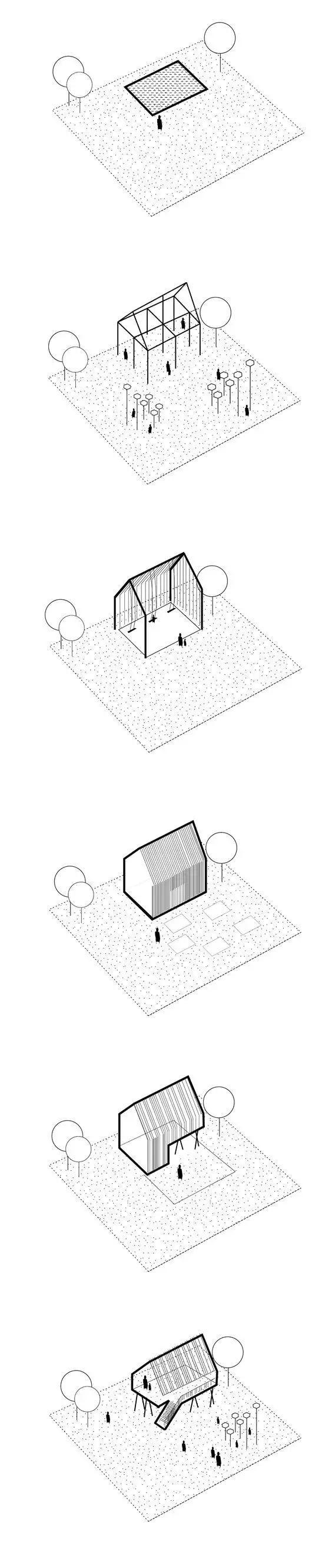 建筑方案推演分析图25例_4