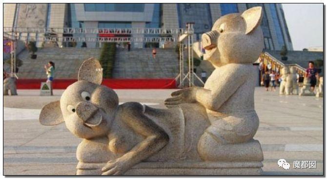 看看这些沙雕雕塑,实在是无法直视!_26