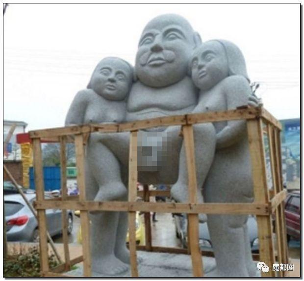 看看这些沙雕雕塑,实在是无法直视!_31