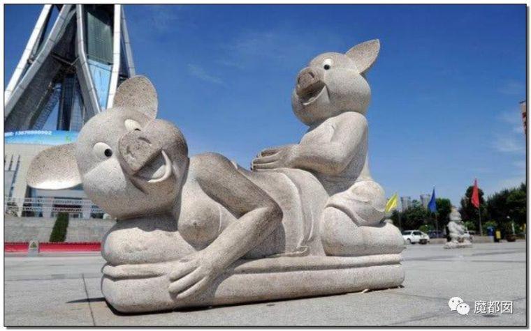 看看这些沙雕雕塑,实在是无法直视!_27
