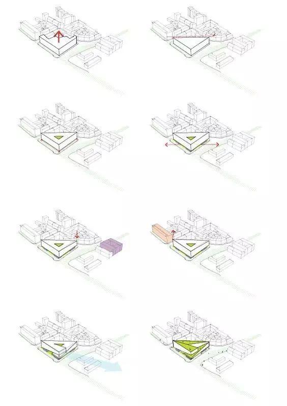 建筑方案推演分析图25例_6