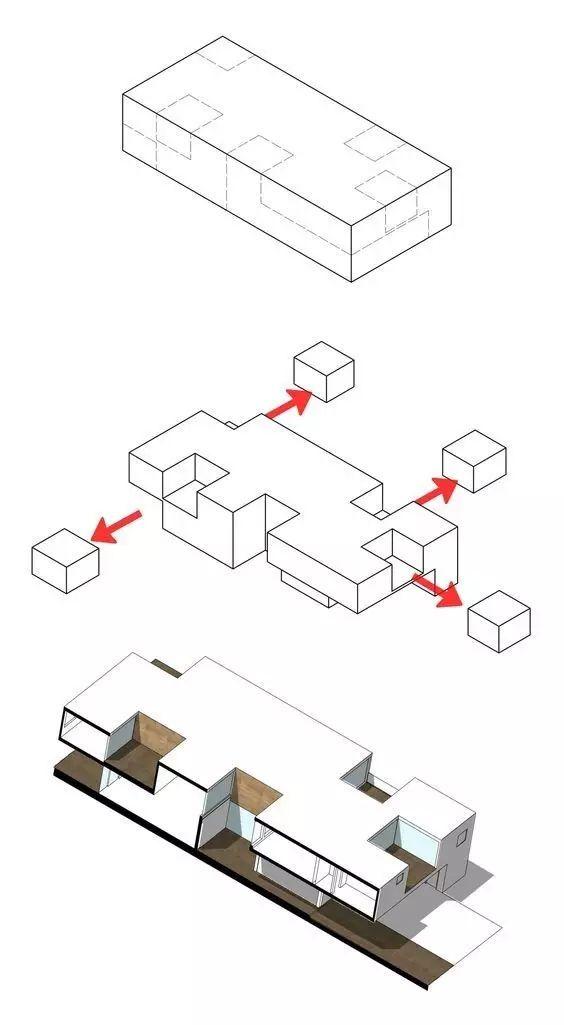 建筑方案推演分析图25例_10
