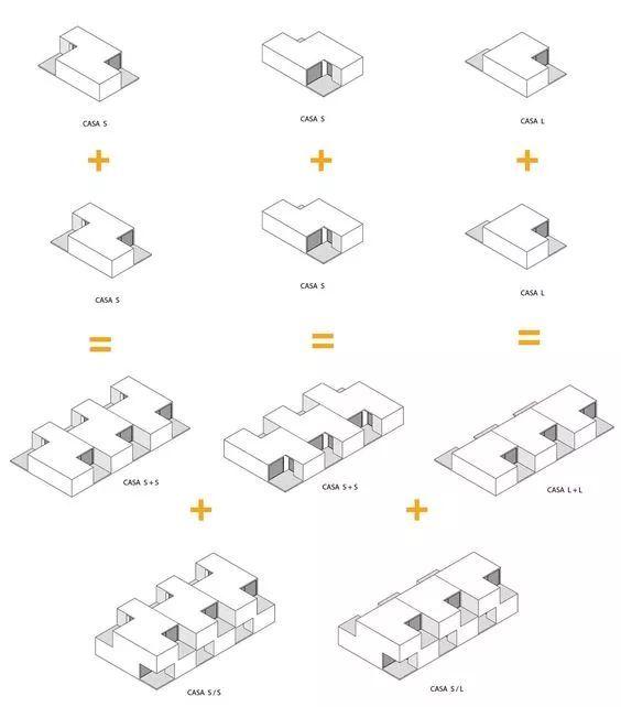 建筑方案推演分析图25例_12