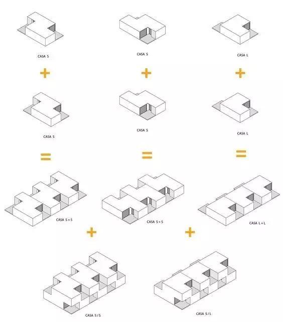 建筑方案推演分析图25例_19