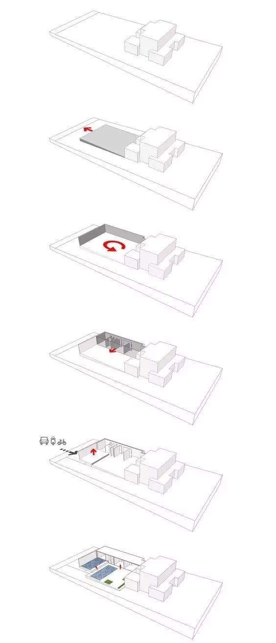 建筑方案推演分析图25例_20