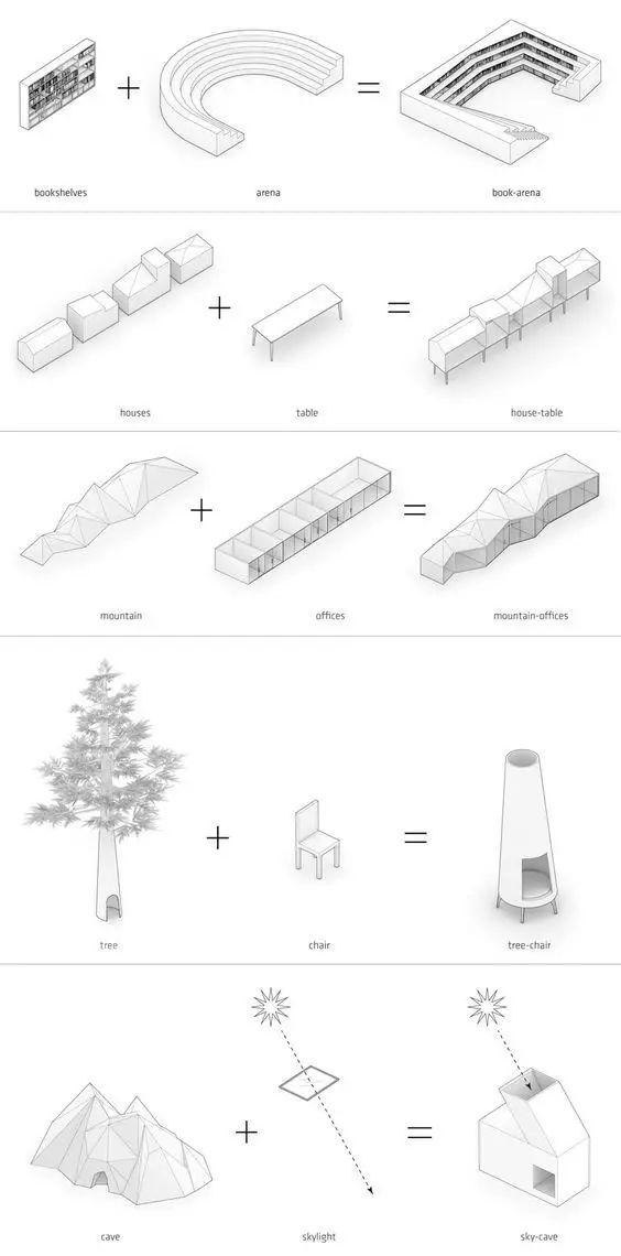 建筑方案推演分析图25例_22