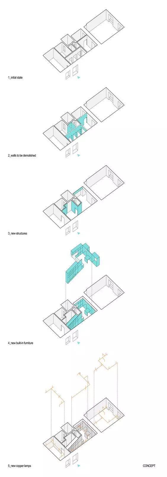 建筑方案推演分析图25例_23