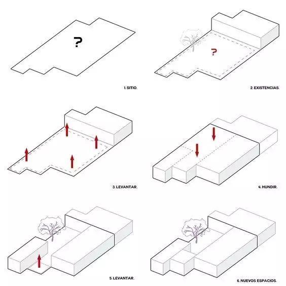 建筑方案推演分析图25例_24