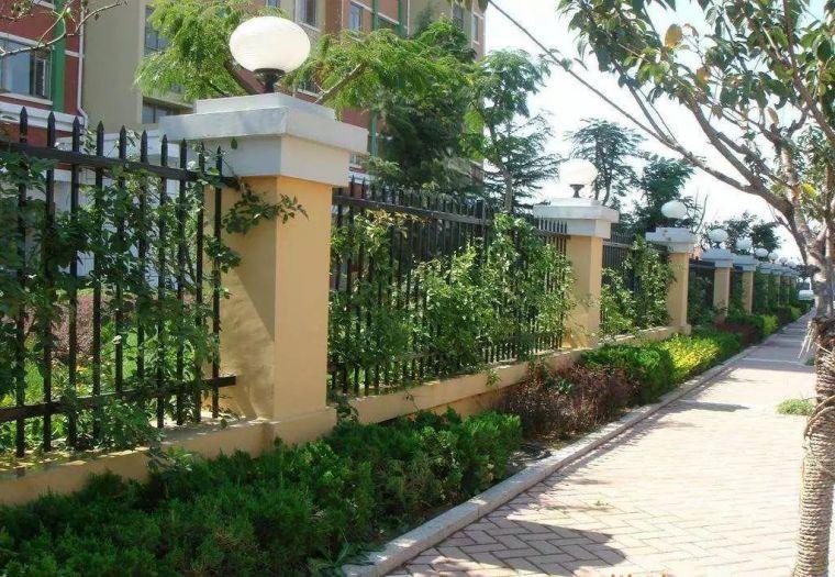 花式围墙设计,美了整体!_1