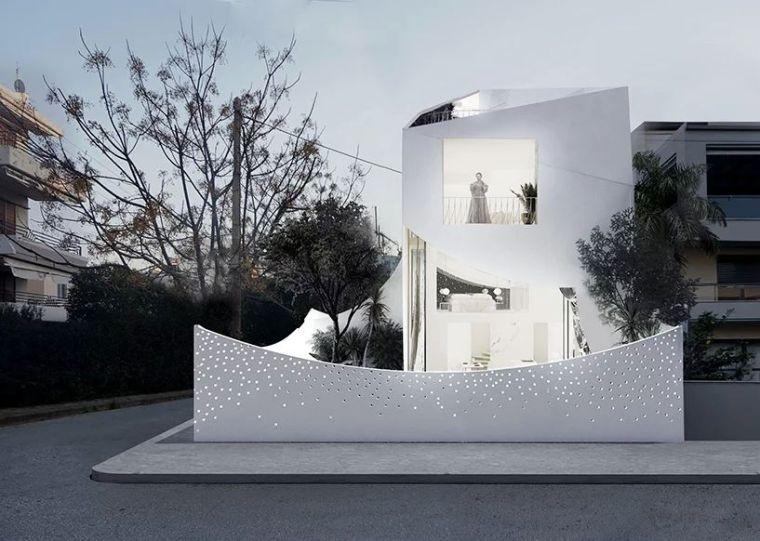 花式围墙设计,美了整体!_4