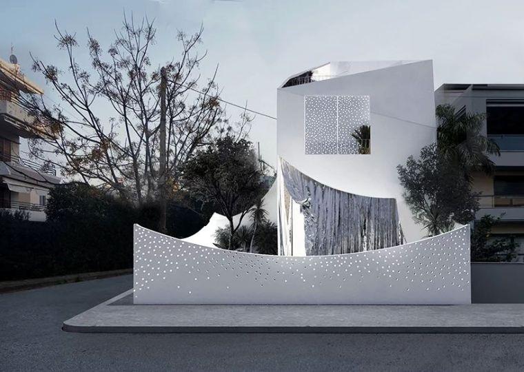 花式围墙设计,美了整体!_5