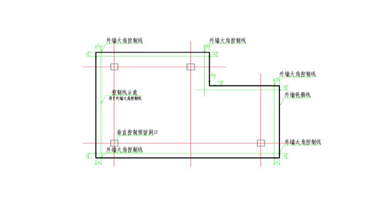 19层框剪结构宿舍楼地下室工程施工方案-05 基础结构细部定位