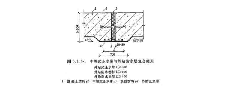19层框剪结构宿舍楼地下室工程施工方案-10 变形缝防水
