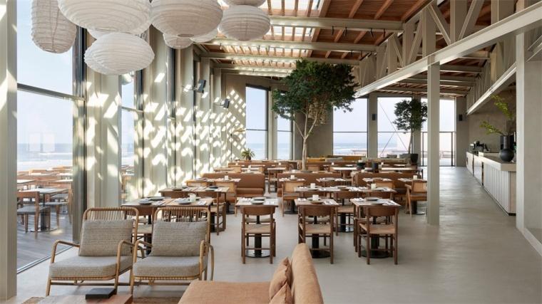 荷兰DeRepubliek海滨餐厅-荷兰De Republiek海滨餐厅室内实景图16