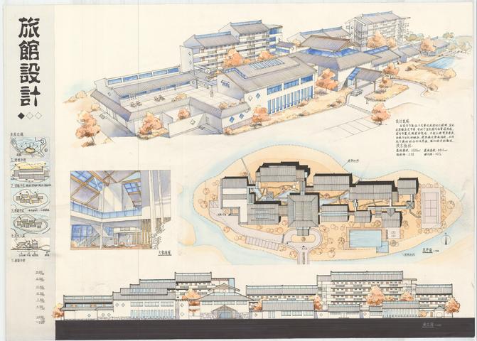 山地旅馆设计学生作业建筑展板16份-山地旅馆设计学生作业建筑展板6