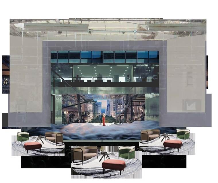 常州名力工业风售楼处丨PPT设计方案+效果图-效果图 (2)