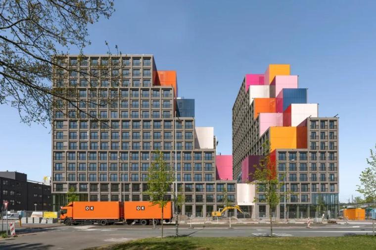 「分享」建筑立面中的构成之美_8