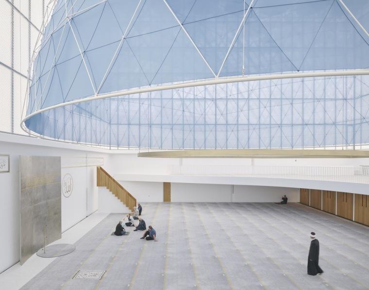 斯洛文尼亚卢布尔雅那伊斯兰宗教和文化中心内部实景图2
