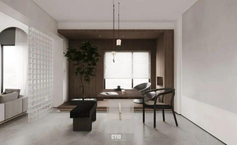 极简白+体块感,优雅现代的艺术大宅_7