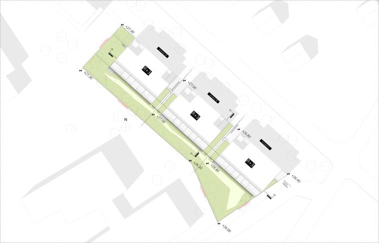 法国南特的45套住房平面图