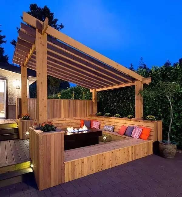 露台花园那么美,下雨该咋办?_10